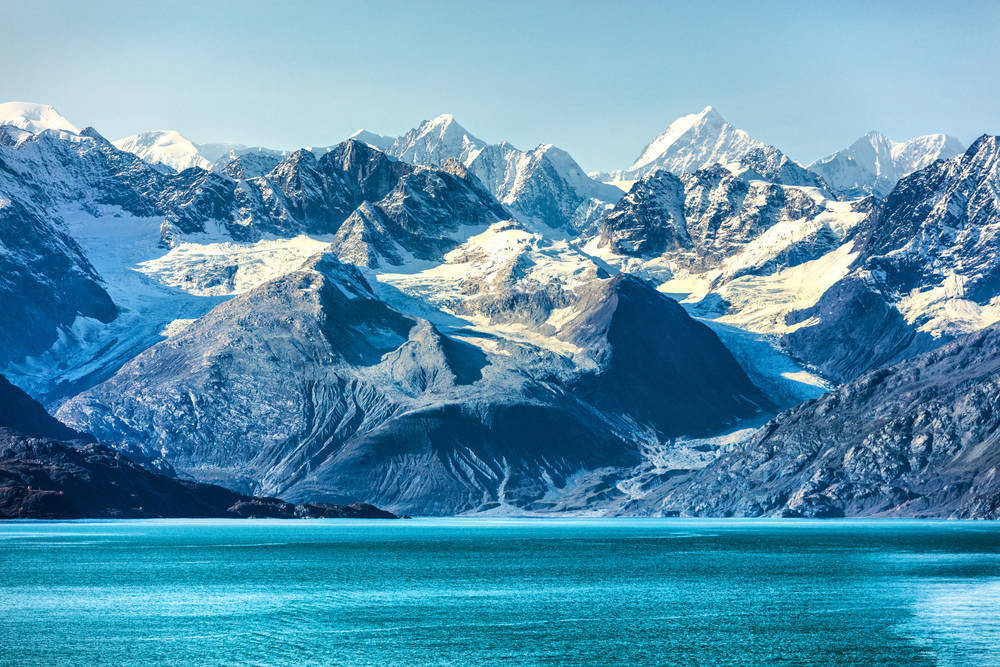 Some Alaskan views are better from the water than from land.