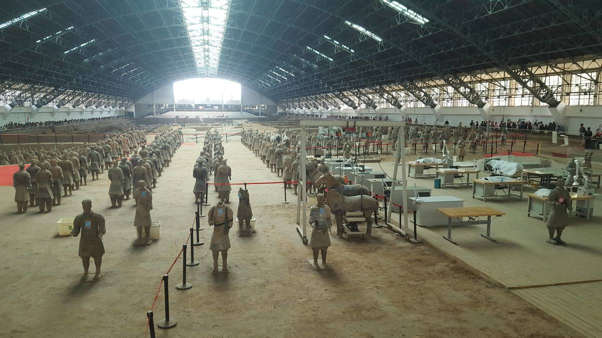 The Terracotta Warrior hospital.
