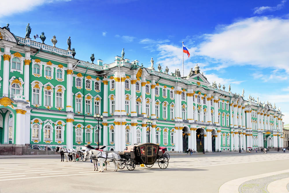 The ornate glory of the Winter Palace