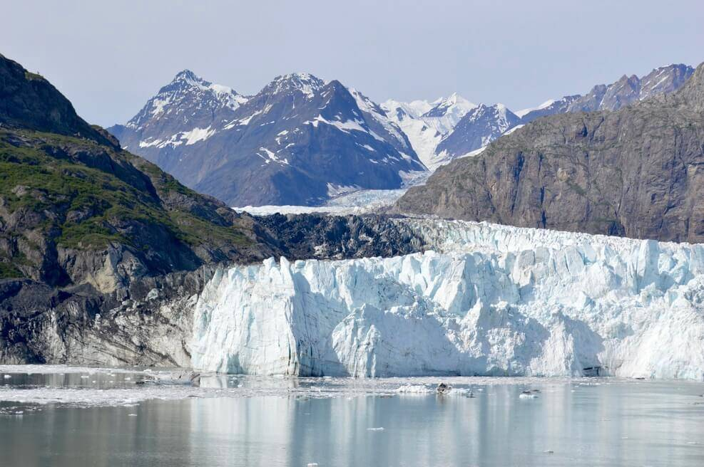 Alaska's Glacier Bay is the best place in the world to cruise.